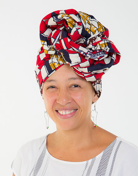African Print Head Wrap 1mt
