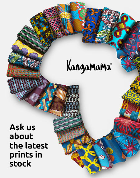 Kangamama Africa Print - Stock Availability